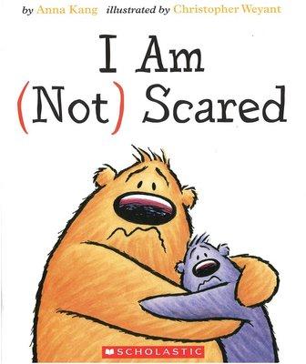 *小貝比的家*I AM NOT SCARED/硬頁/3-4歲小班/情緒/友誼 Friendship