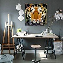 複古工業風格個性動物裝飾畫背景牆消防栓掛畫牆畫壁畫無框畫油畫(9款可選)
