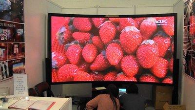 億達光電高解析p2.5弧型  LED電視牆 2018台灣創新技術銀牌獎