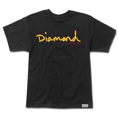 [WESTYLE] Diamond Supply Co OG Script Tee 黑 短T