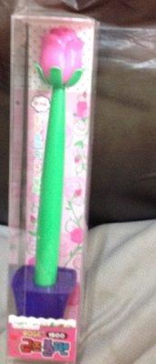 全新玫瑰花盆栽原子筆適合送給心愛的她告白