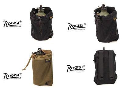 ROGISI軍用後背包配件 海豹特種部隊專用 登山旅行露營水壺袋 SUPREME風格 CORDURA版(網狀)