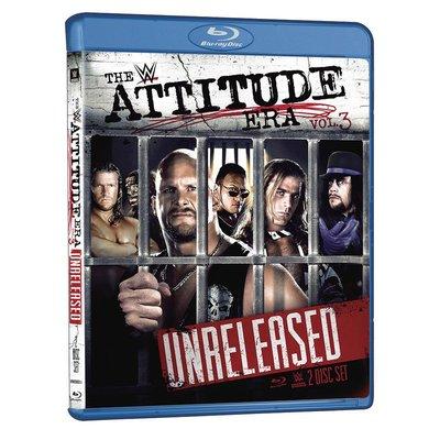 ☆阿Su倉庫☆WWE摔角 Attitude Era Vol. 3 Blu-Ray WWF輝煌年代經典賽事第3輯藍光版