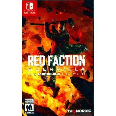 (現貨全新) NS SWITCH 赤色戰線:游擊戰隊 重製版 中英日文美版 Red Faction Guerilla