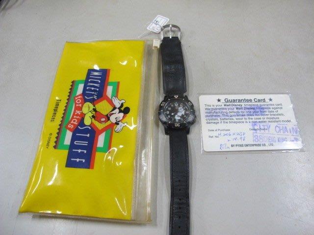 二手舖 NO.63 迪士尼 正版授權 Disney 米奇手錶