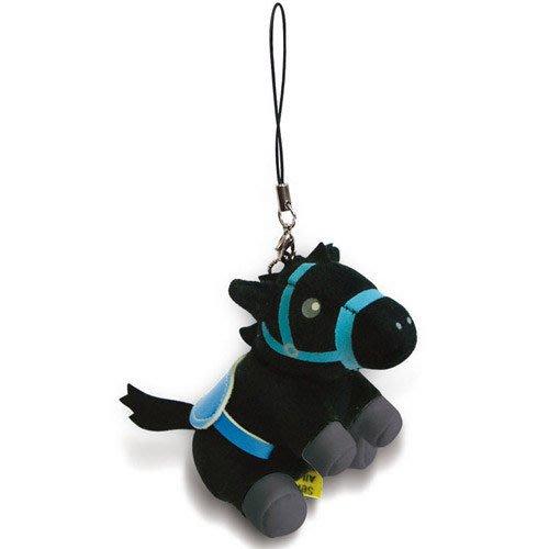 《創意達人》Ponny 小賽馬手機吊飾 ,只剩 黑色小馬