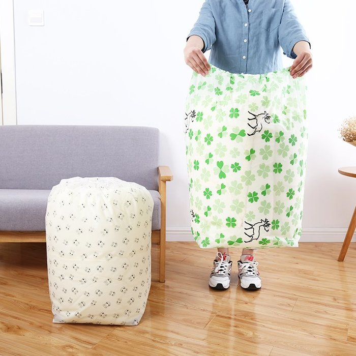 衣服收納整理袋家用大號磨砂束口被子包裝袋衣物收納袋防潮袋被袋