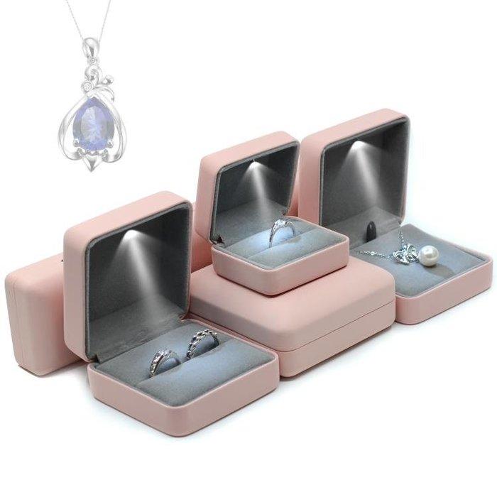 創意戒指盒 高檔婚禮對戒盒鑽戒盒子項錬盒禮物盒手鐲盒手錬盒  限時免運