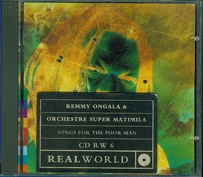 Remmy Ongala / Songs For The Poor Man - REAL WORLD (TANZANIA