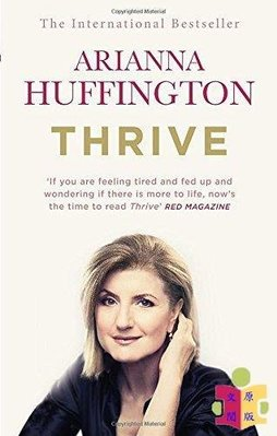 [文閲原版]英文原版Thrive:The Third Metric to Redefining Success
