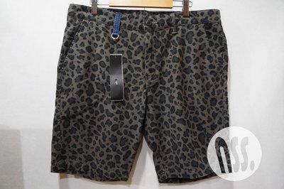 特價「NSS』uniform experiment UE LEOPARD SHORT PANT 豹紋 短褲 M L XL