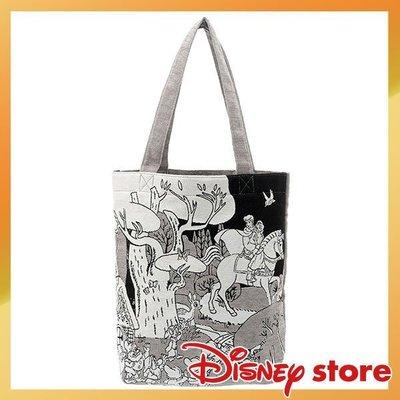 毯織針織提袋 白雪公主 迪士尼專賣店限...