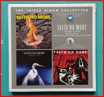 ◎2012-全新進口版3CD套裝專輯未拆!搖滾團體-Faith No More-不再信仰合唱團-Epic-等38首好歌-