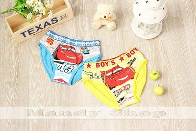 mandyshop【M0657】 Disney迪士尼 汽車總動員/ 閃電麥坤CARS萊卡材質兒童三角褲- 2 件組 台北市