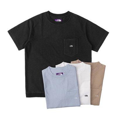 潘多拉明星同款 Soda現貨 THE NORTH FACE紫標High Bulky H/S 口袋短袖T恤