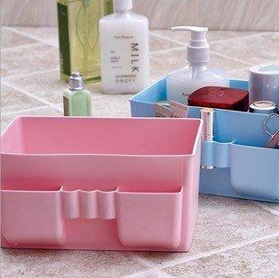 晶華屋--大容量桌面收納盒 化妝品收納盒 雜物收納盒 收納盒(不挑色)