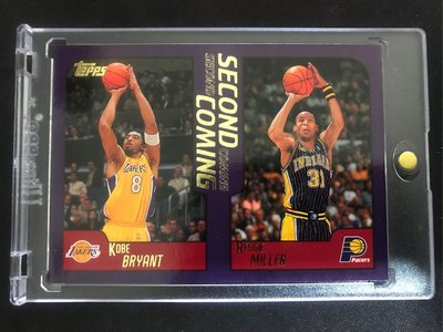 🐍2000-01 Topps Second Coming #292 Bryant/Miller