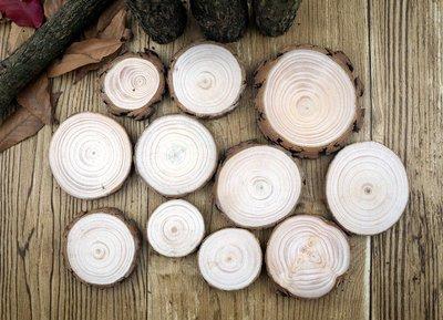 天然圓木片 裝飾模型拍攝道具 法式鄉村...