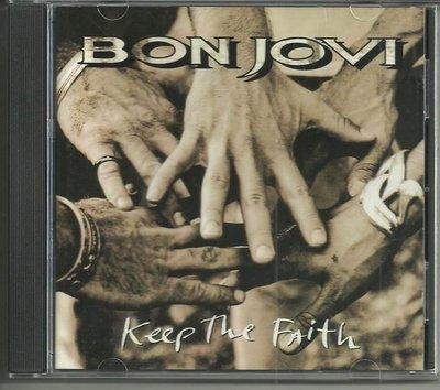 R西洋團(二手CD)邦喬飛樂團~keep the faith~無ifpi~ 德版~銀圈~1992年