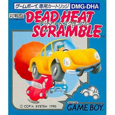 幸運小兔 GB遊戲 GB 迷魂車 死亡賽車 Dead Heat Scramble GameBoy GBC、GBA F3