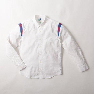 【YOYOGI PLUS】ADLIB - Patchwork Shirt (ST447) 白