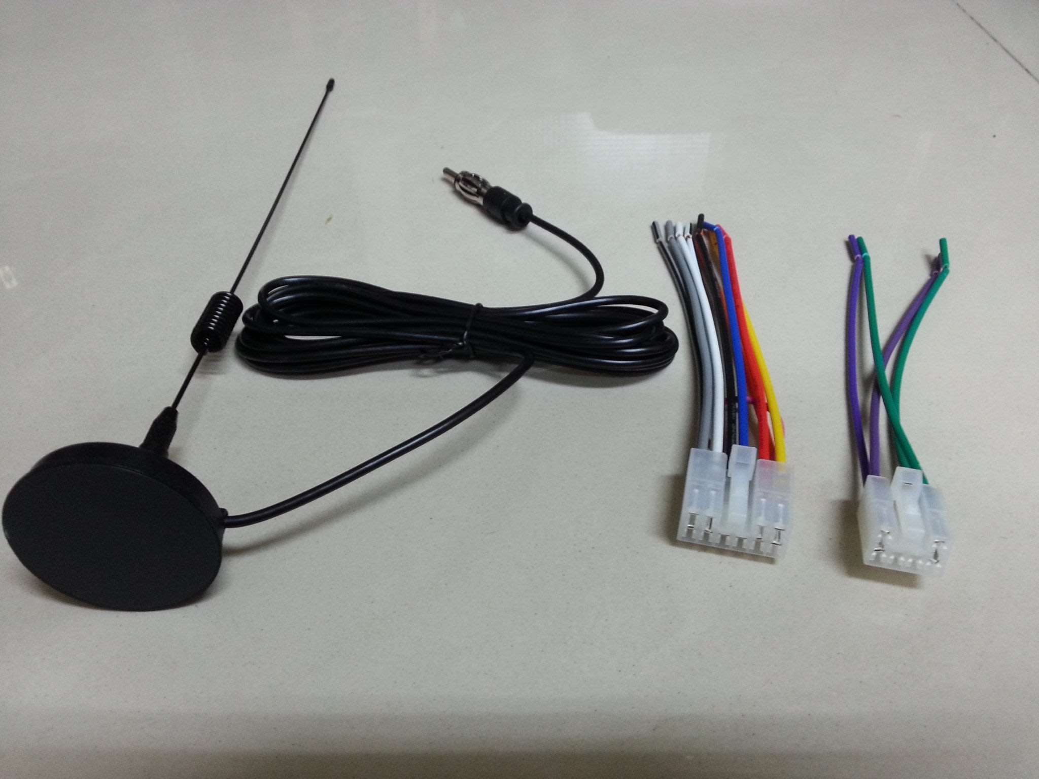 DIY 豐田TOYOTA-CAMRY,VIOS,ALTIS,RAV4,WISH,YARIS原廠音響主機專用電源線組天線