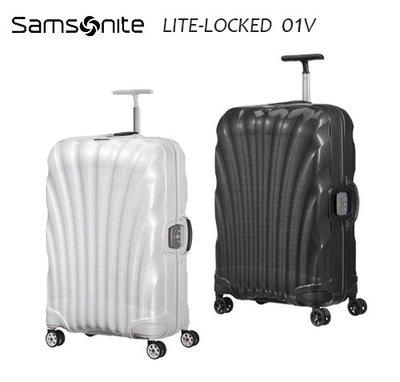 Samosnite 新秀麗 Lite-locked FL 01V 28吋行李箱新升級版雙軌輪置衣隔板 歡迎詢問+送好禮
