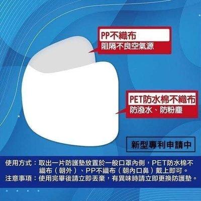 現貨 MIT台灣製 拋棄式口罩防護墊30枚入