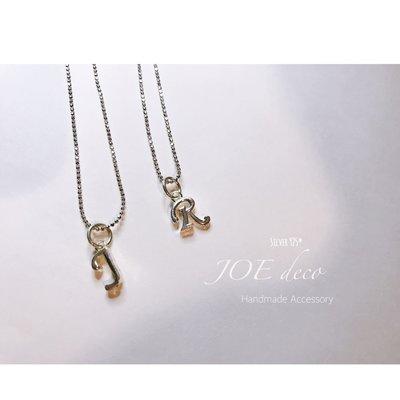 JOE deco♥️手作字母純銀項鍊
