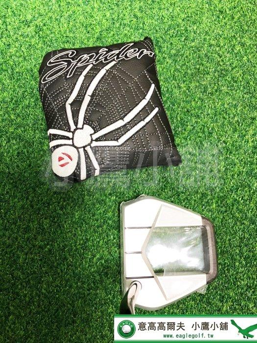 [小鷹小舖] TaylorMade Golf Spider S Navy/Chalk 泰勒梅 高爾夫 推桿 複合材質結構