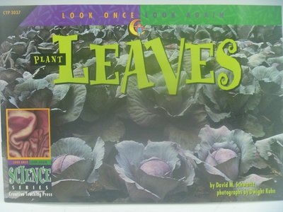 【月界二手書店】Plant Leaves-Look Once,Look Again 〖少年童書〗CER