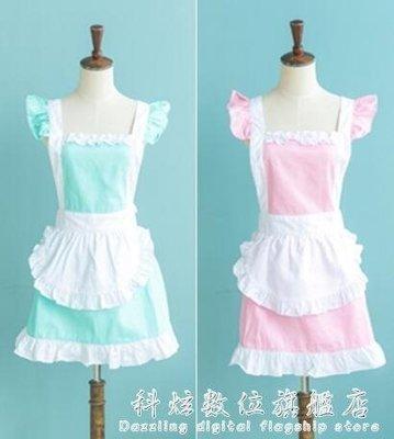 現貨/純棉圍裙 韓版時尚圍裙 可愛公主圍裙 工作服廚房圍裙奶茶店/海淘吧F56LO 促銷價