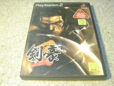 PS2 劍豪2 KENGO2 日文版 直購價400元 桃園《蝦米小鋪》