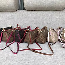 NaNa代購 COACH 36674 六色可選 現貨 肩背包 小巧輕便 可放手機 出行必備品 簡約 附代購憑證 買即送禮