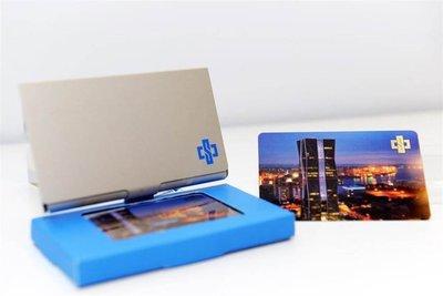 2019 全新 中鋼 股東會紀念品 卡幸福儲卡鋁盒 兩個388含運( 內含儲值金 一卡通 名片夾)