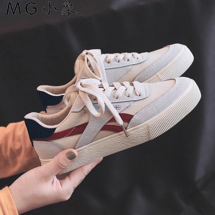 帆布鞋  帆布鞋  韓版百搭學生原宿休閒帆布鞋