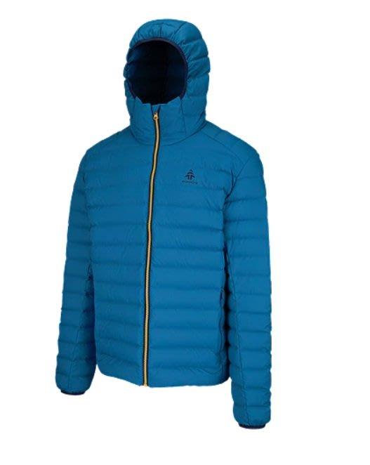 【荳荳物語】美國品牌WOOD男款防水羽絨衣,當外套或當保暖中層上選,DWR Coating,2980元