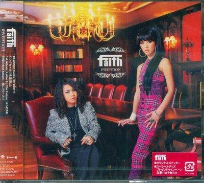 K - faith - INVENTION - 日版 - NEW