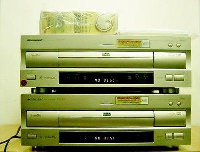 【小劉二手家電】2台很新的PIONEER DVD/LD雷射碟影機,DVL-919型,含一支全新原廠遙控器