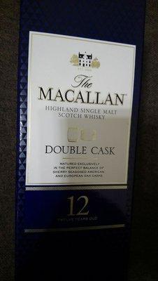 Macallan double cask 12年