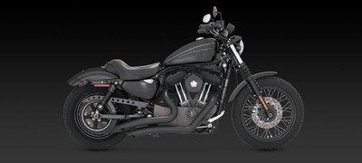[捷克摩托] VANCE & HINES V&H 全段排氣管 適用哈雷 Sportster 04-13年式 非Cobra