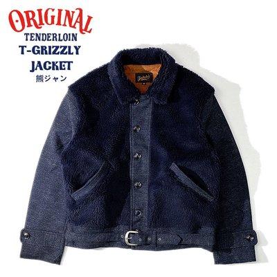 【TOP MAN】TENDERLOIN 毛絨毛熊保暖外套!211171650
