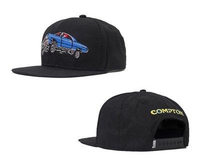 { POISON } PRETTYNICE 8 BIT COMPTON SNAPBACK HAT LOWRIDER棒球帽
