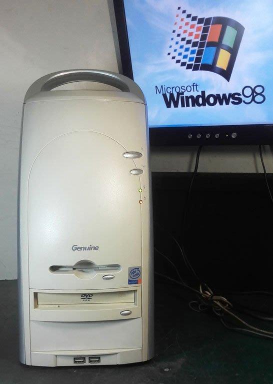 【窮人電腦】跑Win98系統!捷元工業主機出售!雙北桃園可親送!外縣可寄送!