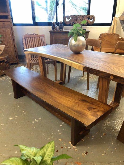雨木長餐椅 (L181 W41 H45.5 cm)