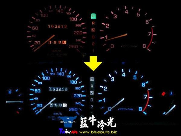 【藍牛冷光】T5 單晶LED 儀表燈 冷氣 液晶 音響 中控台 排檔燈 儀表指針增亮改色 另有T10