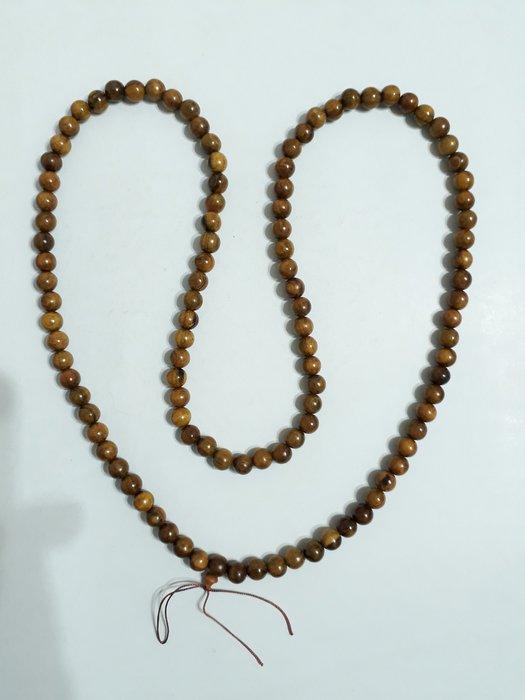 【九龍藝品】肖楠108顆佛珠 ~ 手珠約12mm,重量約89公克 【16】競標