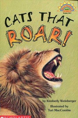 國中英語閱讀 英文繪讀本/自然科學 Cats That Roar! 《Scholastic 》