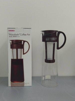 歐拉拉-HARIO哈里歐濾網 咖啡、冷水壺1000ml 咖啡色