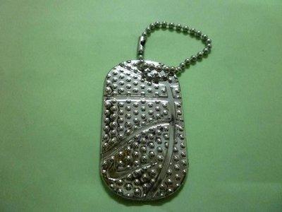 (休閒部屋)nike經典紀念鑰匙圈~籃球花紋造型
